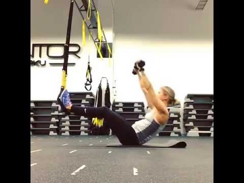 Abs with TRX