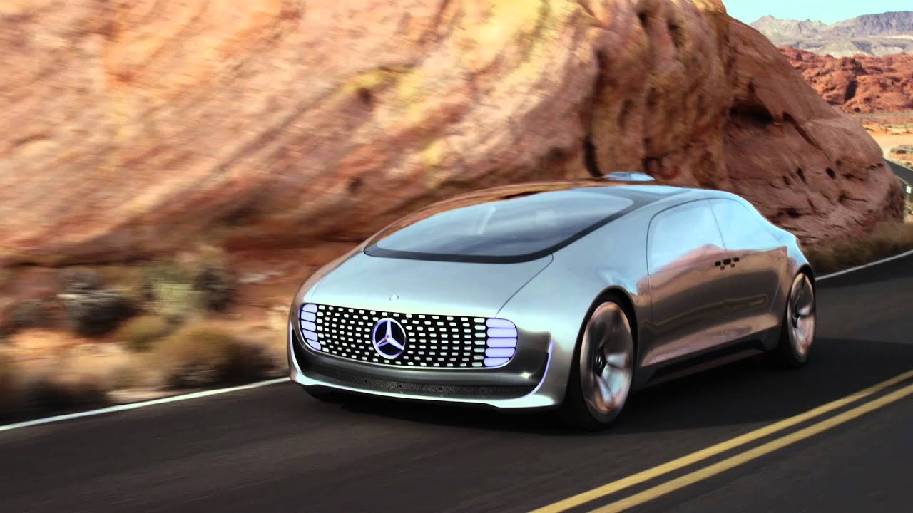 mercedes benz autonomes fahren ces 2016 youtube