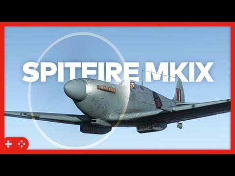 War Thunder - Spitfire MkIX - A Storfyr lesson (SB)