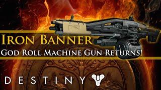 Destiny - Iron Banner inventory! God Roll Bretomarts stand!