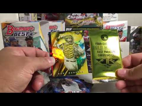 2019 Topps Baseball Cards Opening Series 35 Blaster Box Of 2018 Topps Fire From Target