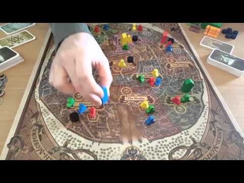 Let's play Discworld: Ankh-Morpork: Rules and review by Hit and Sunk Games