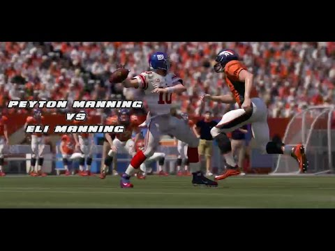 P.MANNING VS E.MANNING!!! WHO