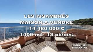 LES ISSAMBRES - MAISON A VENDRE - 14 480 000 € - 1400 m² - 13 pièces