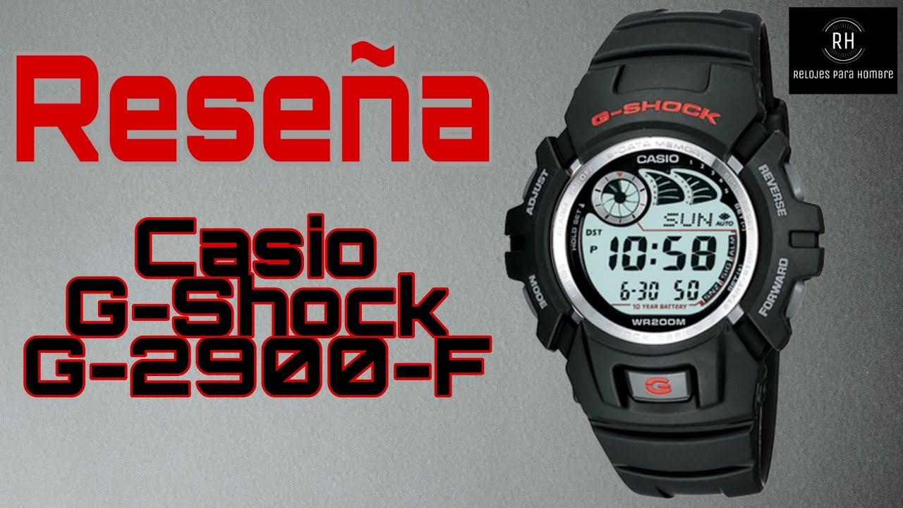 """Download El """"CASI"""" excelente G-Shock G-2900F. En Español."""