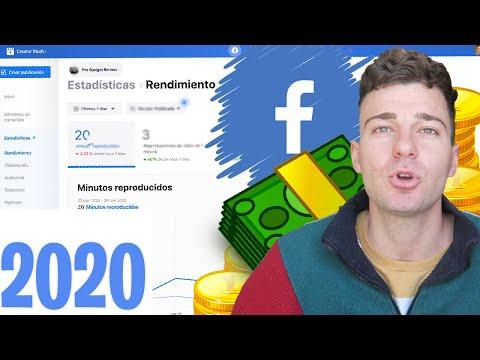 Cómo GANAR DINERO Con FACEBOOK 2020 | Aprende A Monetizar Tu Contenido