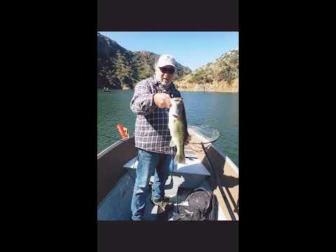 Castaic Lake Bass Fishing Hot Action