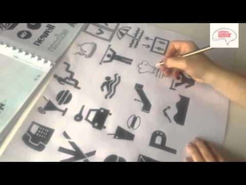 Atölye İzmir® Kara Kalem Piktogram Çizimi