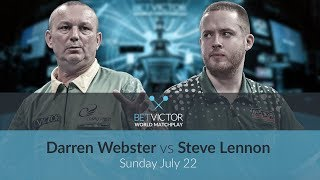 Darren Webster vs Steve Lennon   BetVictor World Matchplay Preview Show   Darts 🎯