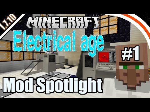Electrical Age mod | Mod spotlight | Part 1 - Basics