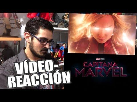 ¡Marvel lo ha vuelto a hacer! | CAPITANA MARVEL | Tráiler Reacción