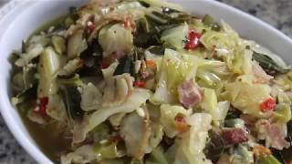 Soul Food Cabbage & Collard Greens- I Heart Recipes