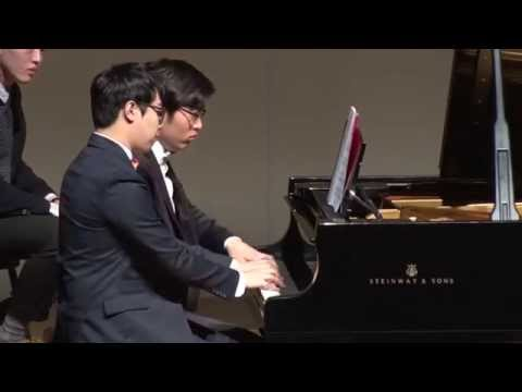 P.I.Tchaikovsky Waltz of the Flowers piano 4 hands