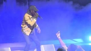 """Antidote (Travis Trips Falls Off Stage)"" Travis Scott@Wells Fargo Center Philadelphia 4/3/16"