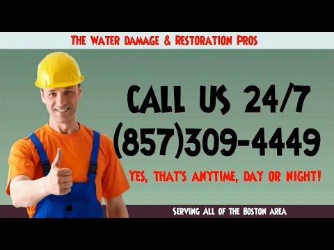 Emergency Water Damage Restoration Boston (857)309-4449