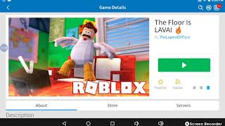 How to play roblox on flour is lava in pizza place half of it