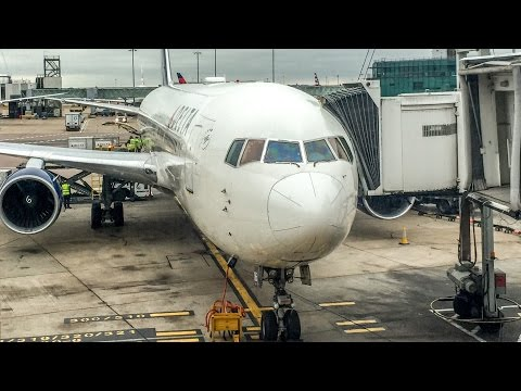 Delta Air Lines Boeing 767 Time-lapse Full Flight - LHR To ATL