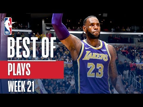NBA's Best Plays | Week 21
