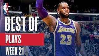 NBA's Best Plays   Week 21