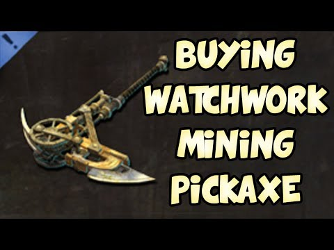 BUYING WATCHWORK MINING PICKAXE! | Guild Wars 2 Gemstore Shopping #022