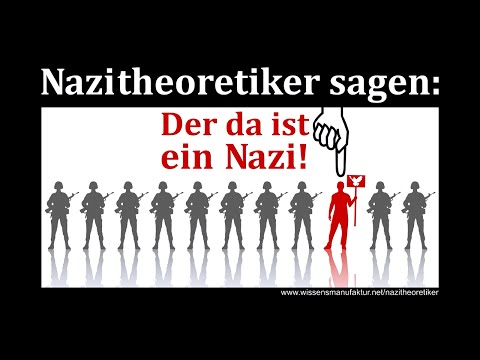 Was sind Nazitheoretiker? Andreas Popp eräutert den Begriff