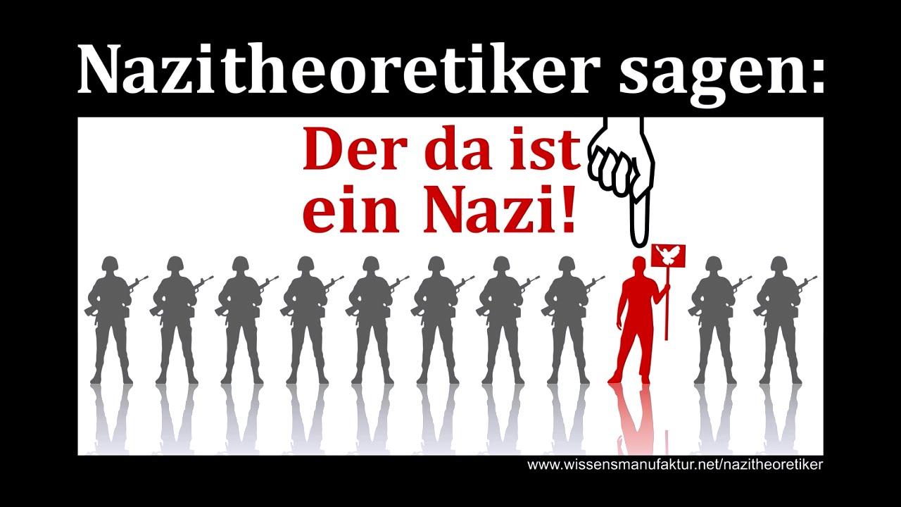 Wenn Du überall Nazis Siehst