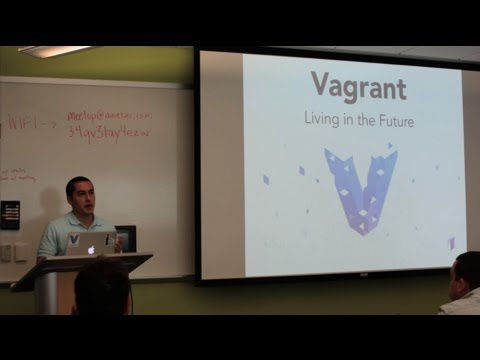 Bucks County DevOps: Vagrant and Packer with Mitchell Hashimoto