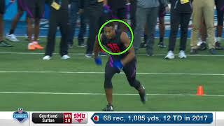 NFL WR Tips: Courtland Sutton's Combine breakdown