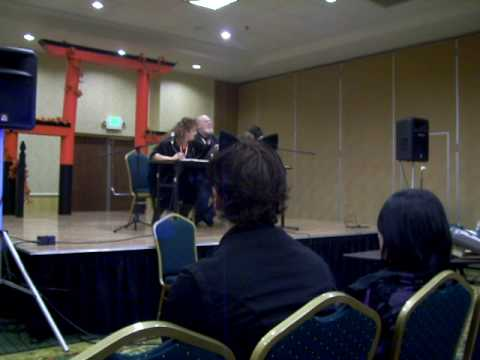 Michael McConnohie talking about his roles in Tales of the Abyss and Final tasy 4