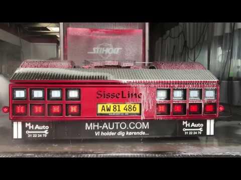 Custom Scania s730 from Hejne Denmark Toucheless cleaned by ProNano 100% Non Contact Truckwash