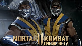 Mortal Kombat 11 Online Beta - EPIC SCORPION GEAR!