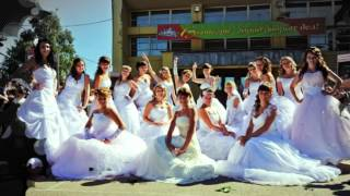 Парад невест. Вытегра 2012