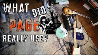 What Gear Did Jimmy Page Actually Use In Led Zeppelin? ( The Early Years)