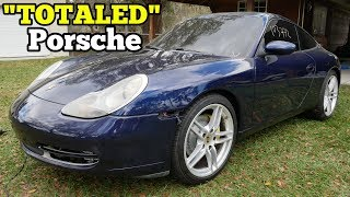 Assembling a $4,250 Salvage Auction Porsche 911. It Looks Amazing!