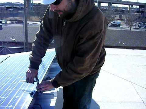 Solar Power PV system Oklahoma City.AVI
