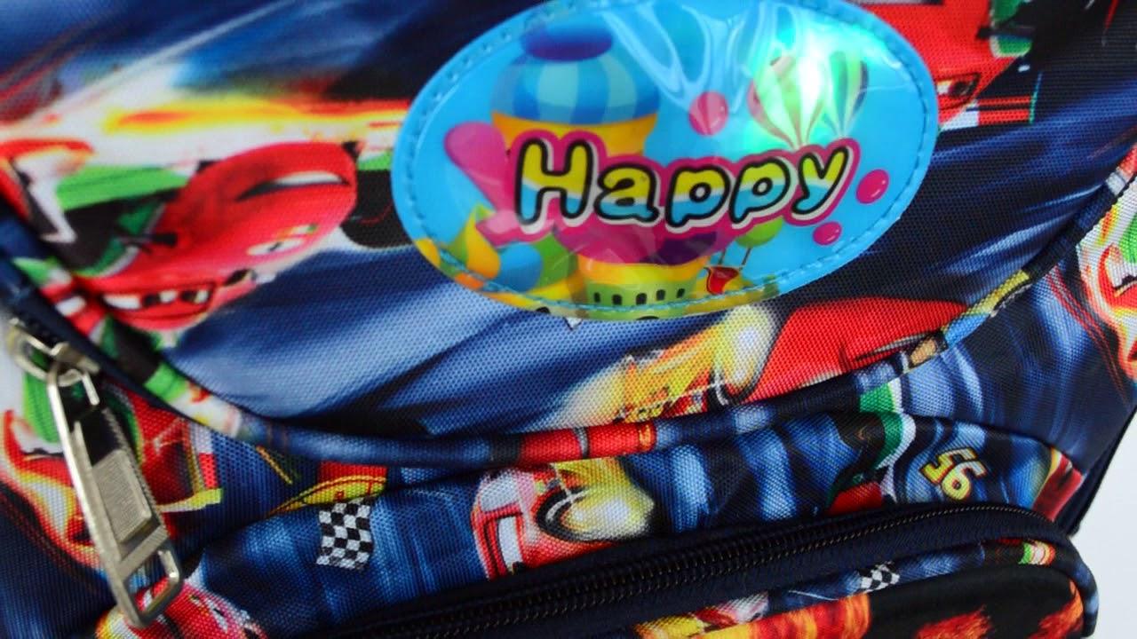 c9c026e65a1b Школьный рюкзак с ортопедической спинкой и с 3Д рисунком и - YouTube