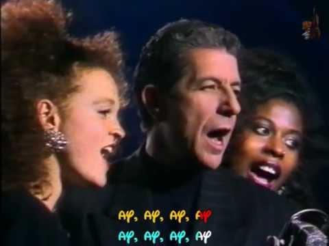 LEONARD COHEN - Take this waltz - TVRIP - 1988 - Subtitulado inglés y español