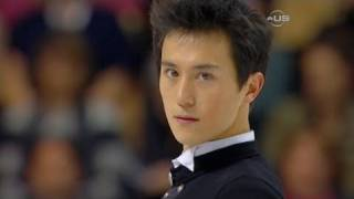 Repeat youtube video Patrick Chan nails quad for win  - from Universal Sports