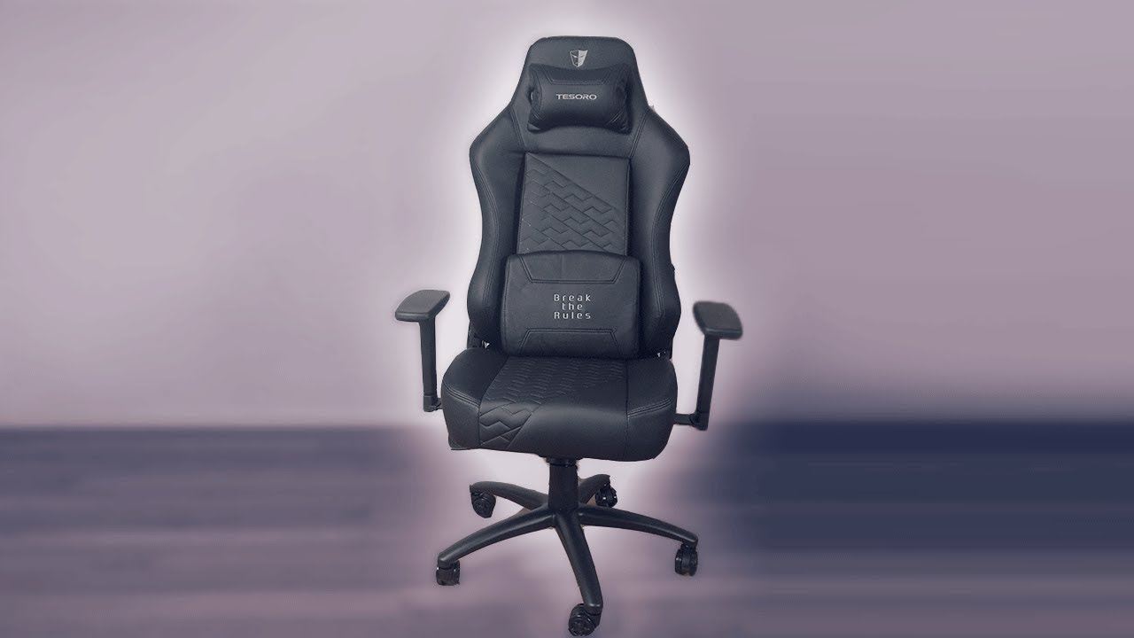 Evolution Chair Tesoro Zone Evolution Gaming Chair Unboxing