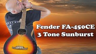Fender FA-450CE Acoustic-Electric Bass 3-Color Sunburst