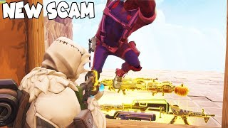 So The Hammer NEW SCAM is So Broken 😱 Must Watch (Scammer Gets Scammed) Fortnite Save The World