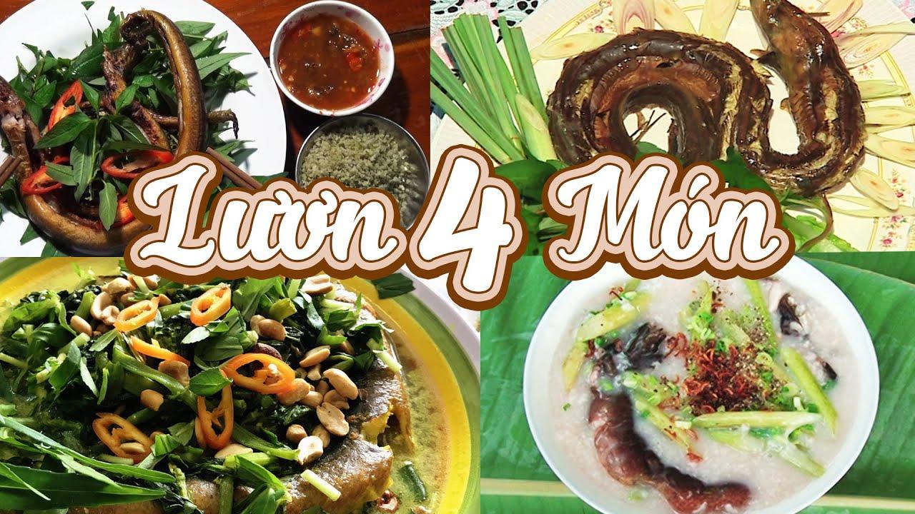ĐSMSN – 4 món ngon từ lươn không thể bỏ qua  – Southwest Vietnam Cuisine Show