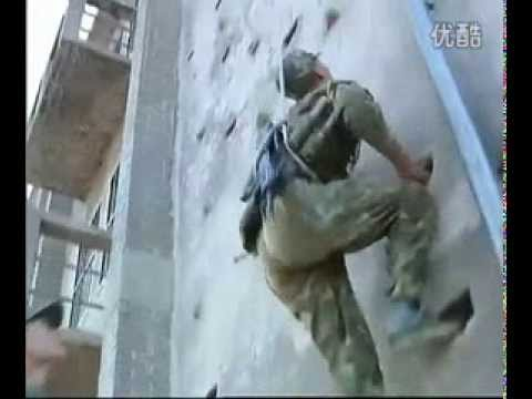 Chinese Special Forces -- training day (2nd part / film)
