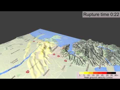 Simulation of the 2011 Christchurch earthquake