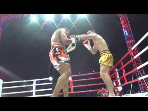 "Matthew ""Sobek"" Semper vs Zhaoquan Zhang   SuperStar Fight Series   Changsha, China 2/27/2016"