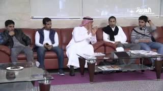 الصور الأولى للبعثة السعودية لدى وصولها إلى دبي