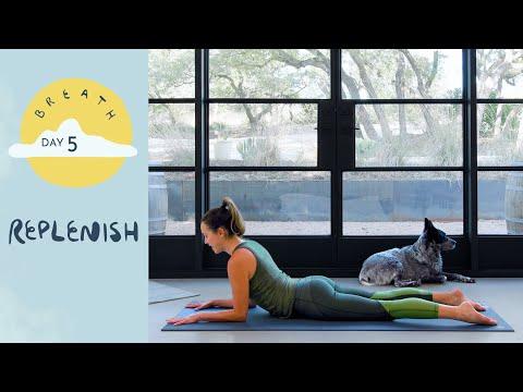 Day 5 - Replenish | BREATH - A 30 Day Yoga Journey - Yoga With Adriene