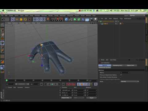 C4D Tutorial 04 - Bridge Tool
