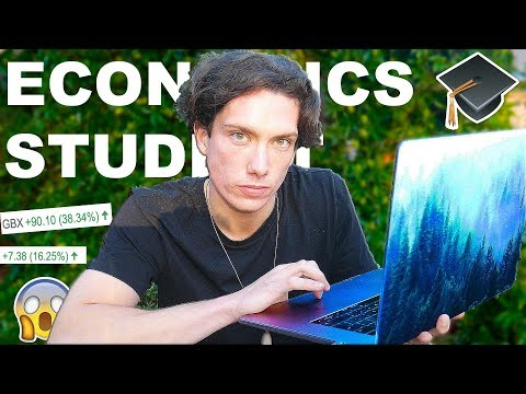 HIGH RETURNS ALREADY!! I INVESTED MY STUDENT LOAN IN STOCKS & SHARES!! :EP 2