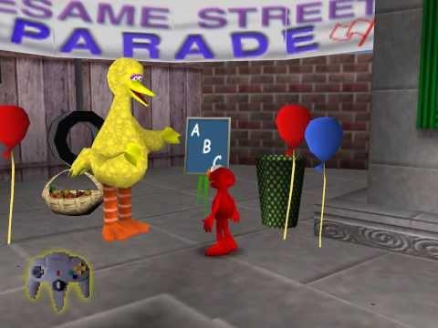 [N64] Elmo's Letter Adventure Corruptions